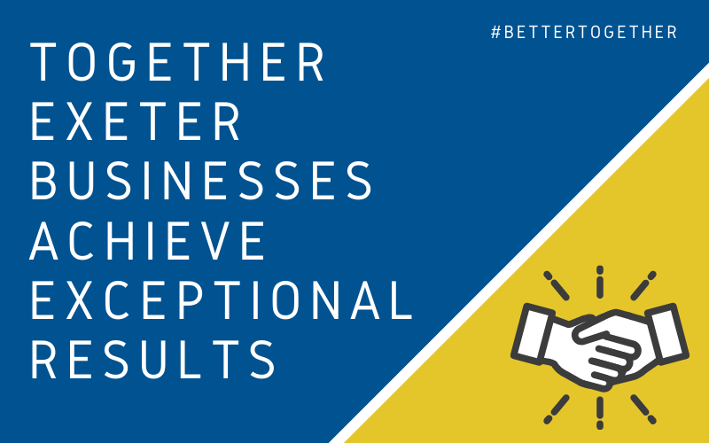 Together Exeter businesses achieve exceptional results